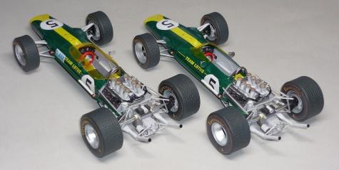 Lotus 49 - Jim Clark - GP Nizozemí a GP V.Británie 1967