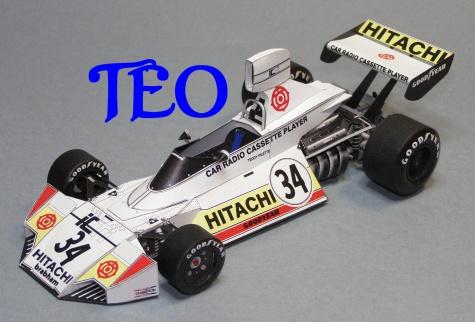 Brabham BT 42 Teddy Pilette VC Belgie 1974