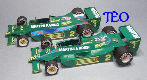 Lotus 79 Martini VC Monaka a VC Německa 1979