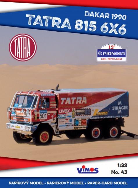 Tatra 815 6x6 - Dakar 1990