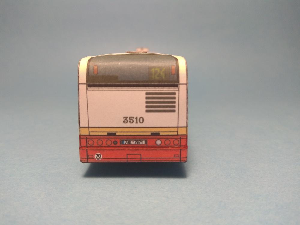Irisbus Citelis 12m - DP Praha, retrobus 3510