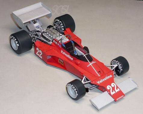 Ensign N176 - Chris Amon - GP Belgie 1976