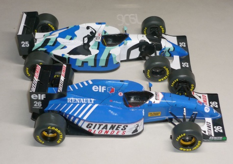 Ligier JS39 - Mark Blundell - GP Monaka 1993