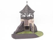 Strážna bašta opevnenia zaniknutého kostola - Žibritov
