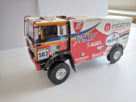 MAN TGS 18.480 Dakar 2015