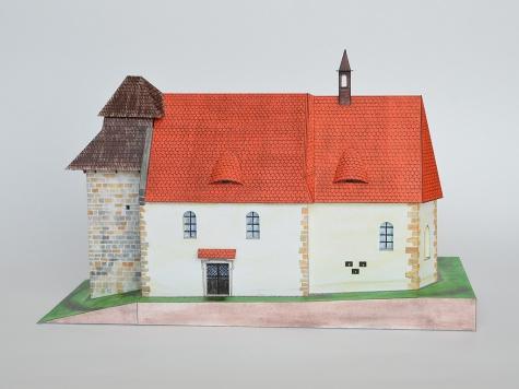 Kostol sv. Ambróza, Vícov u Přeštic