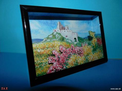 Matúšove hrady - 1.Čachtický hrad