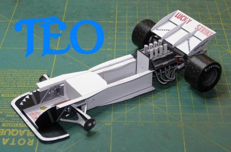 Tyrrell 004 E.Keizan VC JAR 1973