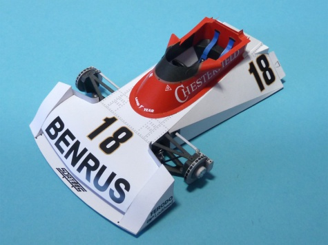 Surtees TS19 US GP 1976 Practise