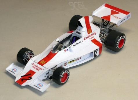 Shadow DN1A - Graham Hill - GP Monaka