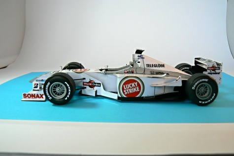 BAR 002,  Jacques Villeneuve, 2000
