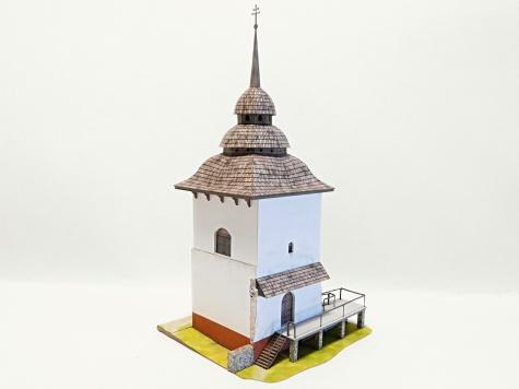 Věž zaniklého kostela Panny Marie - Liptovská Mara