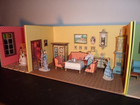 Na návštěvě u prababičky  / Aby měly panenky kde bydlet