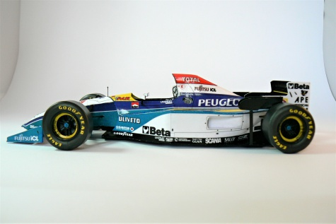 JORDAN 195, Rubens Barrichello - GP Spain 1995