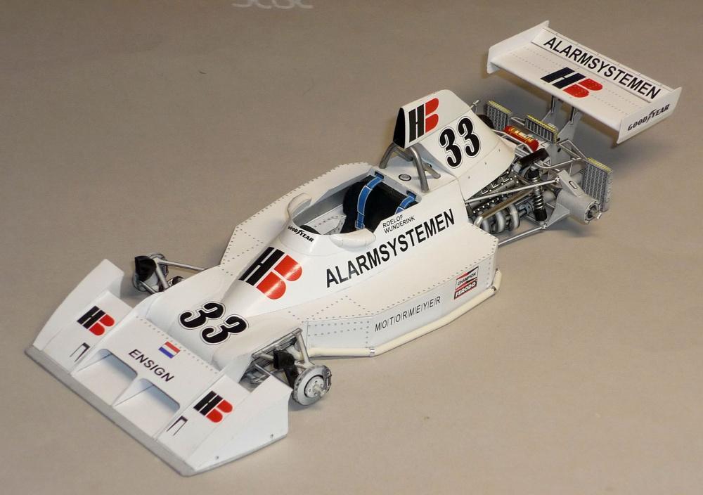 Ensign N174 - Roelof Wunderink - GP Rakouska 1975