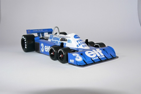 TYRRELL P34, Ronnie Peterson - 1977