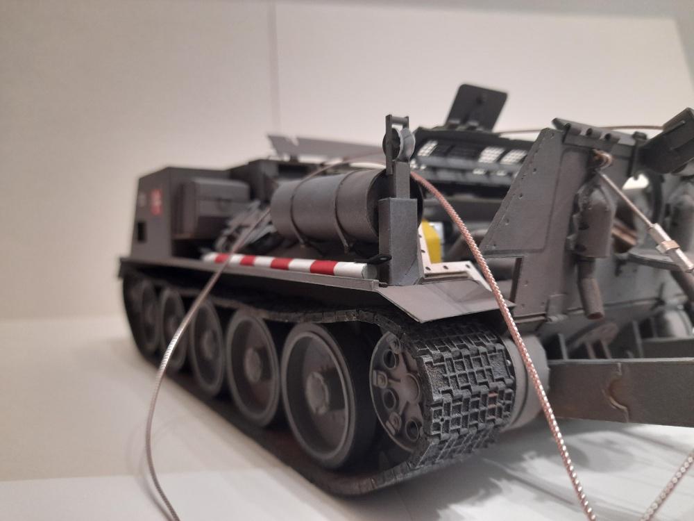 VT 34 vyprošovací tank