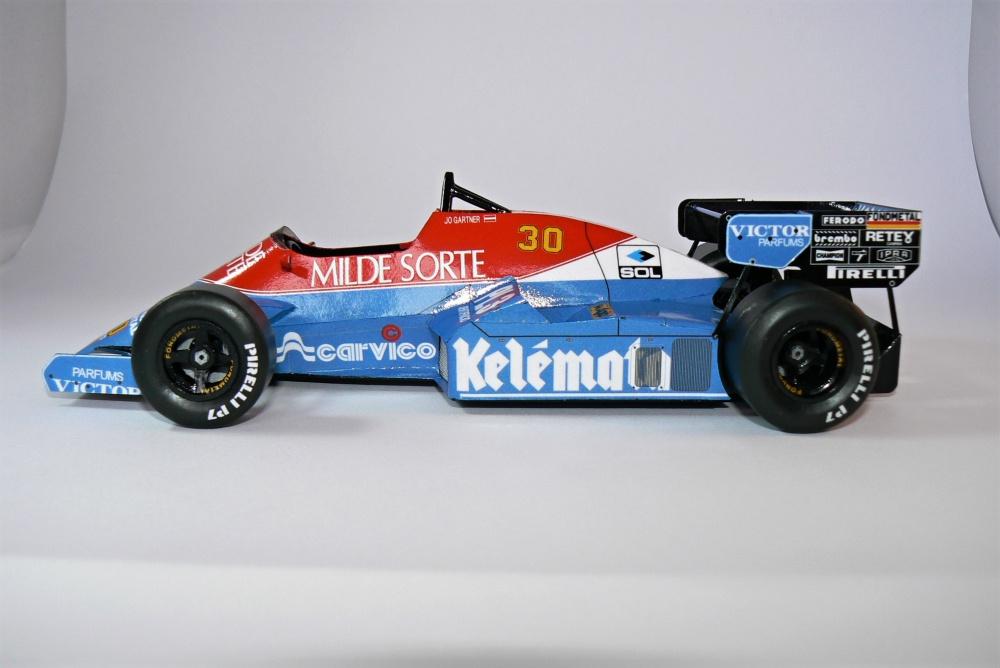 OSELLA FA1F, Jo Gartner  - GP Italy 1984