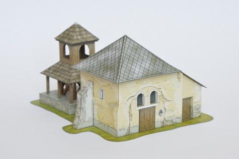 Kostol sv. Martina so zvonicou, Vežké Turovce