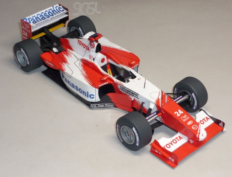 Toyota TF102 - Mika Salo - 2002