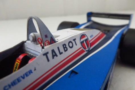 Ligier JS19; Eddie Cheever; Las Vegas-GP 1982