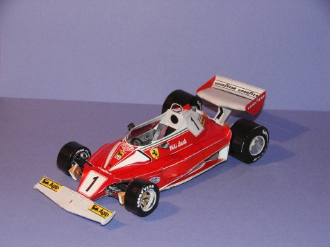 24-hodinovka 2009 - Ferrari 312 T2
