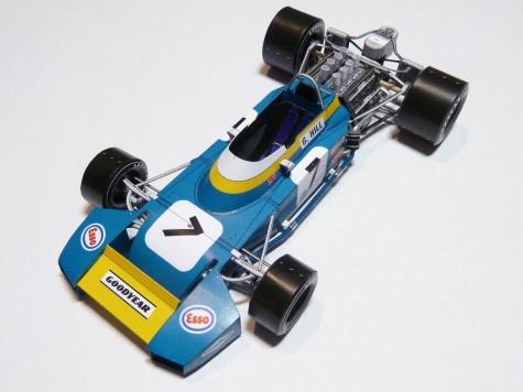 24-hodinovka 2011 Brabham BT34 VC Velké Británie ´71