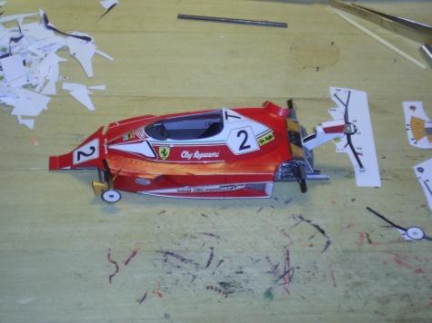 24 hodinovka 2011-Ferrari 312 T2 C.Regazzoni 1976