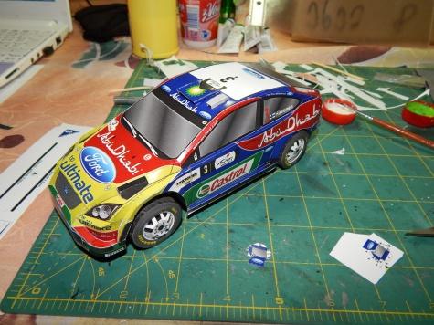 24 hodinovka 2013 - Ford Focus WRC