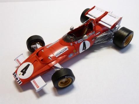 Ferrari 312B British GP 1970 C. Regazzoni