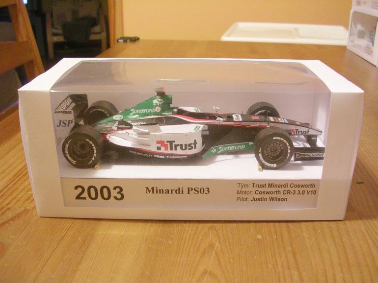 24hodinovka 2010 - Minardi PS03, 2003 Justin Wilson