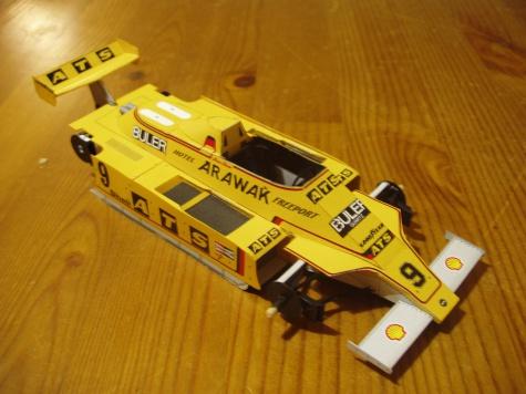 ATS D3, 1980 Marc Surer