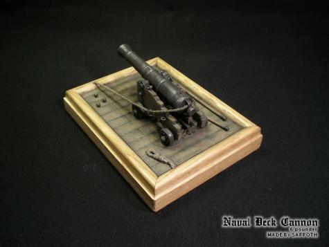 6-pounder Naval Deck Cannon