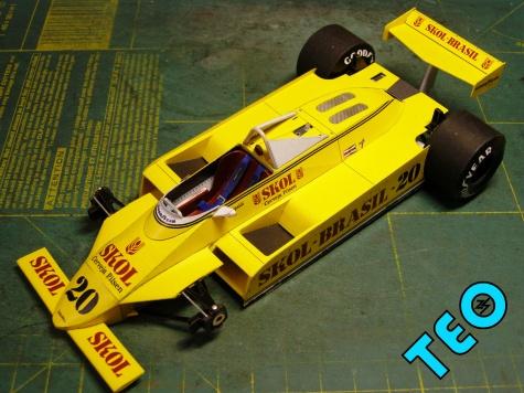 Fittipaldi F8 1980