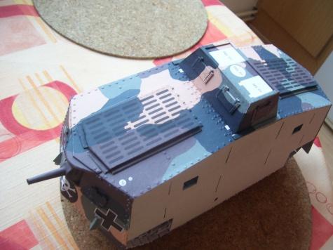 A7V - tank z 1. sv. války