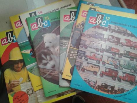 ABC časopisy