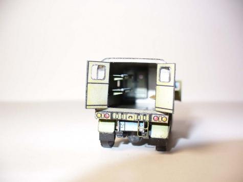 AEC Matador - ambulance /1:100 (Kinza)