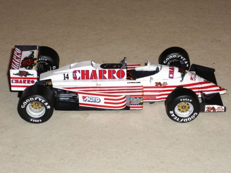AGS JH22 - Pascal Fabre - GP Mexika 1987