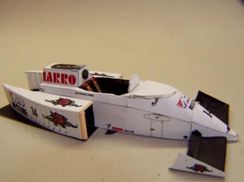 AGS JH22, 1987, P. Fabre, San Marino