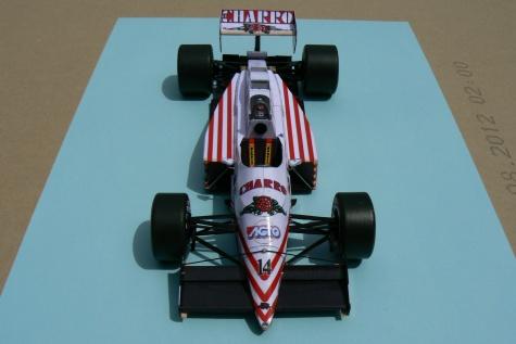 AGS JH22, Pascal Fabre, Mexiko 1987