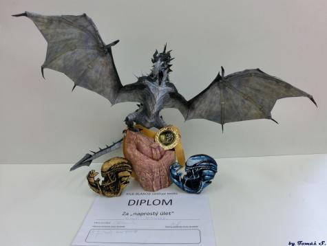 Alduin-Skyrim frost dragon