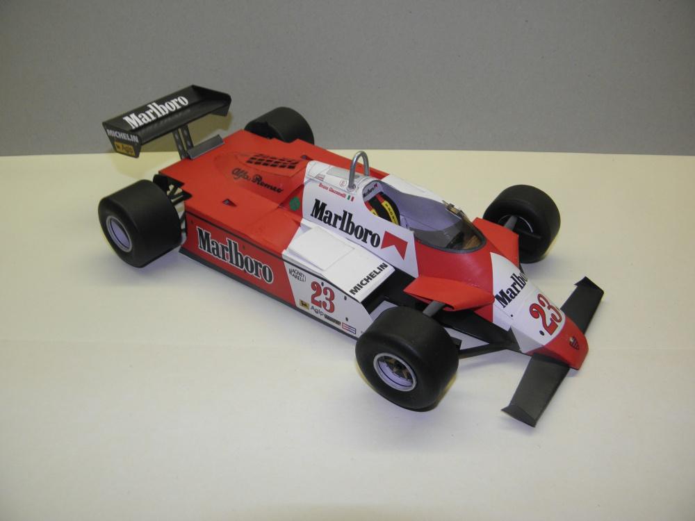 Alfa Romeo 182T, 1982, B. Giacomelli
