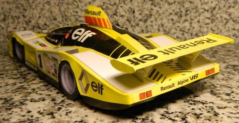 Alpine Renault A 443 - Jabouille Depailler