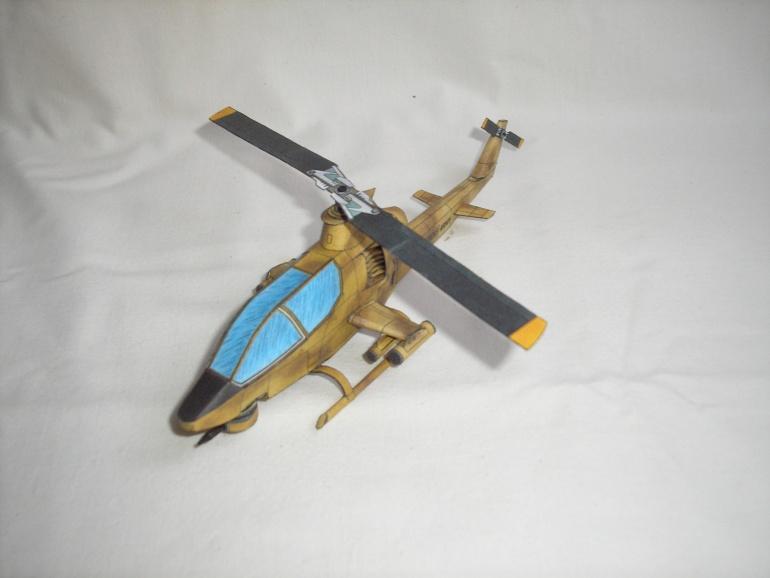 Americký bojový vrtulník BELL AH-1G COBRA