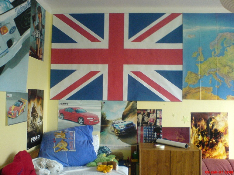 Anglická vlajka