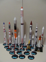 Animals in Space + space rocket
