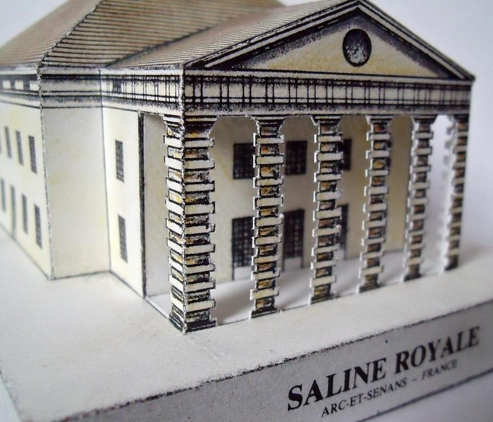 Arc-et-Senans - královský solivar (památka zapsaná na Seznamu UNESCO)