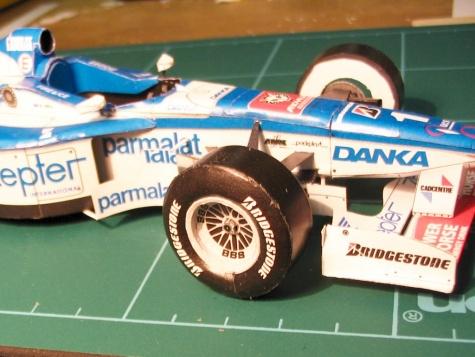 Arrows A18, GP Hungary 1997, Damon Hill