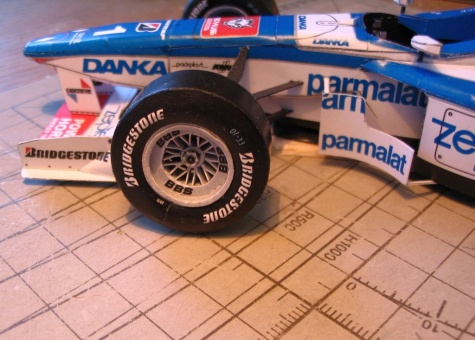 Arrows A18, GP Hungary 1997, Damon Hill