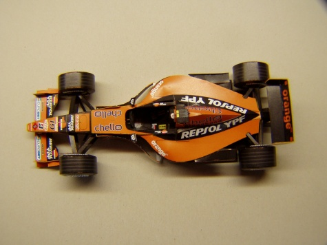 Arrows A21, 2000, J. Verstappen